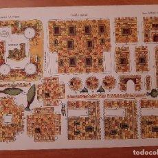 Coleccionismo Recortables: RECORTABLE LA TIJERA : CASTILLO ESPAÑOL / IMPERIO Nº 17. Lote 253744905