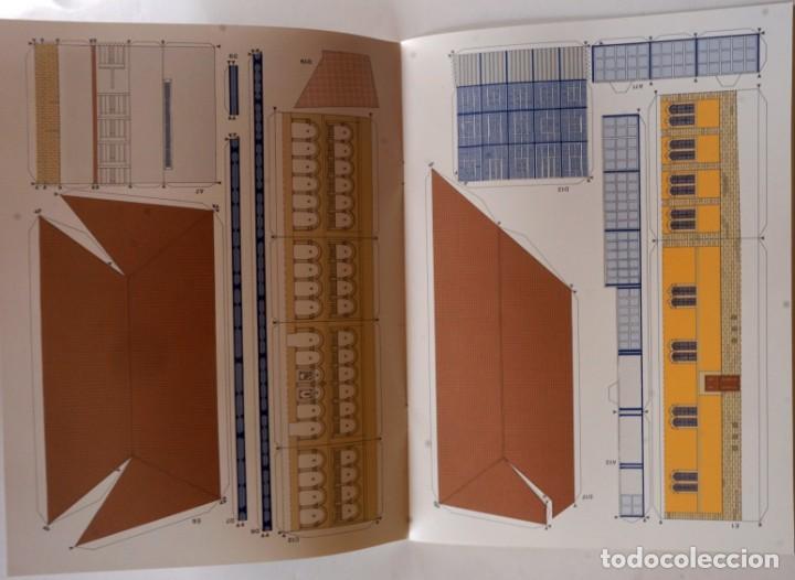 Coleccionismo Recortables: MAQUETA RECORTABLE DEL CONJUNTO ANTIGUA FÁBRICA DE TABACOS (LOGROÑO, LA RIOJA) - Foto 4 - 254484935