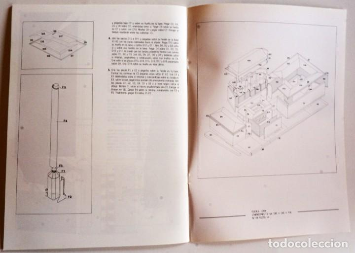 Coleccionismo Recortables: MAQUETA RECORTABLE DEL CONJUNTO ANTIGUA FÁBRICA DE TABACOS (LOGROÑO, LA RIOJA) - Foto 5 - 254484935