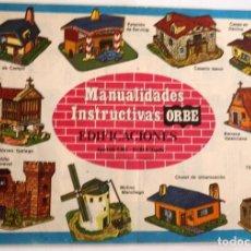 Coleccionismo Recortables: 9 MAQUETAS RECORTABLES DE EDIFICACIONES POPULARES.. Lote 254509015
