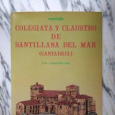 Coleccionismo Recortables: RECORTABLE COLEGIATA Y CLAUSTRO DE SANTILLANA DEL MAR - LUIS I. CARRETERO BAJO - ESTUDIO - 1985. Lote 261349515