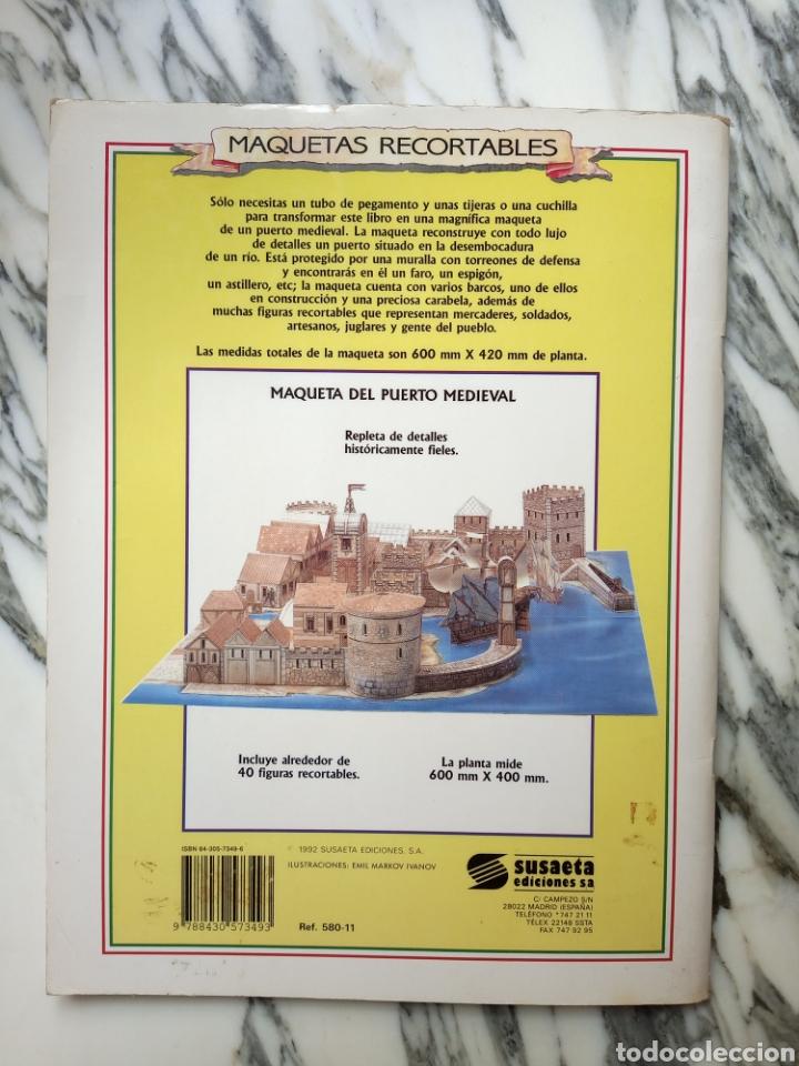Coleccionismo Recortables: MAQUETAS RECORTABLES - PUERTO MEDIEVAL - SUSAETA - 1992 - Foto 3 - 261523445