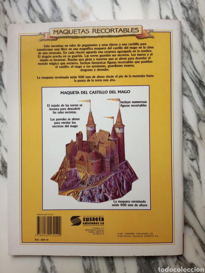 Coleccionismo Recortables: MAQUETAS RECORTABLES - CASTILLO DEL MAGO - SUSAETA - 1991 - Foto 3 - 261523880
