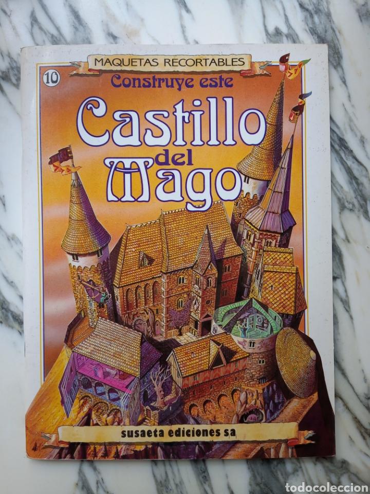 MAQUETAS RECORTABLES - CASTILLO DEL MAGO - SUSAETA - 1991 (Coleccionismo - Recortables - Construcciones)