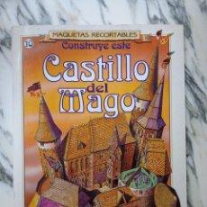 Coleccionismo Recortables: MAQUETAS RECORTABLES - CASTILLO DEL MAGO - SUSAETA - 1991. Lote 261523880
