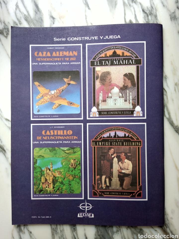 Coleccionismo Recortables: MAQUETA RECORTABLE - TAJ MAHAL - ALAN ROSE - EDAF - 1987 - Foto 5 - 261531475