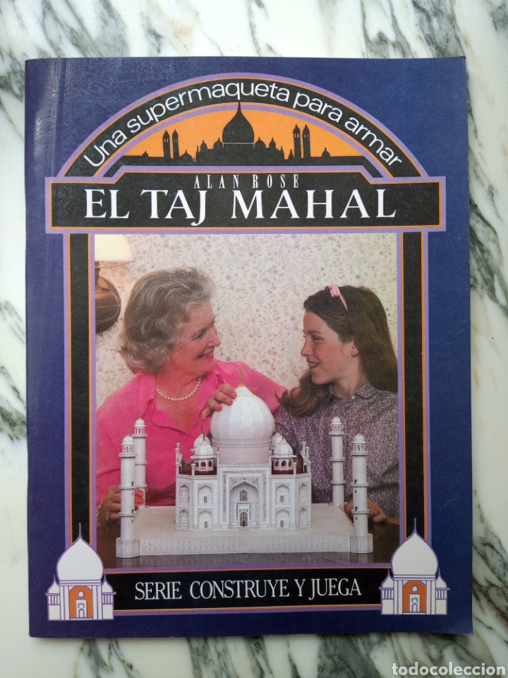 MAQUETA RECORTABLE - TAJ MAHAL - ALAN ROSE - EDAF - 1987 (Coleccionismo - Recortables - Construcciones)