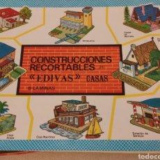 Coleccionismo Recortables: CONSTRUCCIONES EDIVAS - RECORTABLES 521-528. Lote 262483325