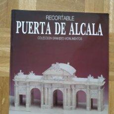 Coleccionismo Recortables: RECORTABLE PUERTA DE ALCALA. EDICIONES MERINO. VER FOTOS. Lote 263052735