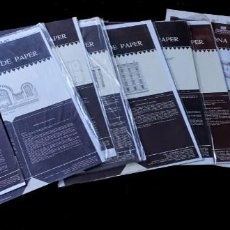 Coleccionismo Recortables: 9 RECORTABLES DE TARRAGONA DE PAPER, COLECCION COMPLETA. Lote 263149925