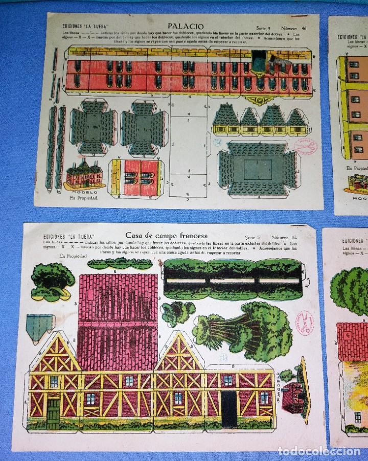 Coleccionismo Recortables: ANTIGUO LOTE DE 4 RECORTABLES DE EDICIONES LA TIJERA 4 MODELOS DISTINTOS ORIGINALES - Foto 2 - 265513259
