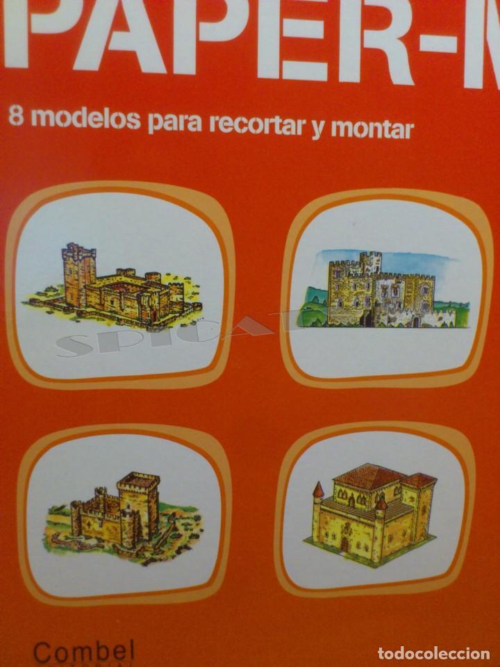 Coleccionismo Recortables: CASTILLOS - RECORTABLES - PAPER-MODEL - SERIE MEDIEVAL - CARPETA - 8 LAMINAS - CASTILLO - NUEVO - Foto 2 - 265769834