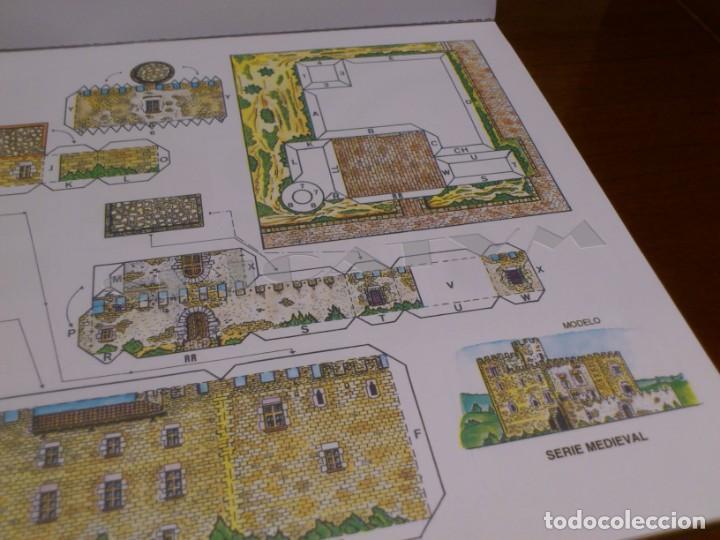 Coleccionismo Recortables: CASTILLOS - RECORTABLES - PAPER-MODEL - SERIE MEDIEVAL - CARPETA - 8 LAMINAS - CASTILLO - NUEVO - Foto 7 - 265769834