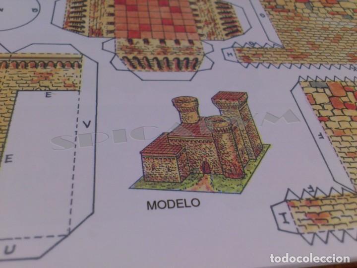 Coleccionismo Recortables: CASTILLOS - RECORTABLES - PAPER-MODEL - SERIE MEDIEVAL - CARPETA - 8 LAMINAS - CASTILLO - NUEVO - Foto 8 - 265769834