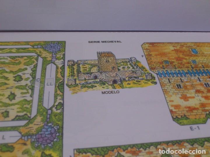 Coleccionismo Recortables: CASTILLOS - RECORTABLES - PAPER-MODEL - SERIE MEDIEVAL - CARPETA - 8 LAMINAS - CASTILLO - NUEVO - Foto 9 - 265769834
