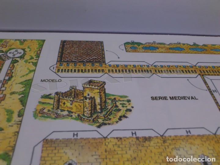 Coleccionismo Recortables: CASTILLOS - RECORTABLES - PAPER-MODEL - SERIE MEDIEVAL - CARPETA - 8 LAMINAS - CASTILLO - NUEVO - Foto 10 - 265769834