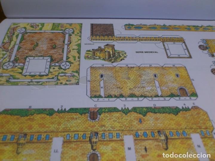 Coleccionismo Recortables: CASTILLOS - RECORTABLES - PAPER-MODEL - SERIE MEDIEVAL - CARPETA - 8 LAMINAS - CASTILLO - NUEVO - Foto 11 - 265769834