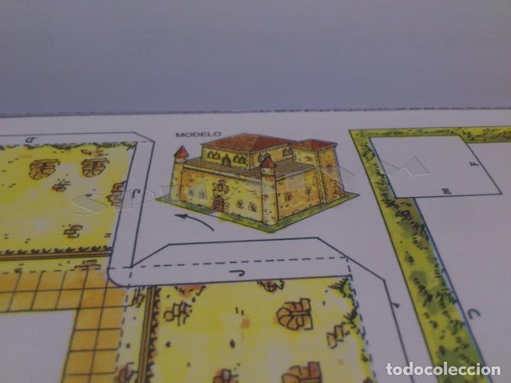 Coleccionismo Recortables: CASTILLOS - RECORTABLES - PAPER-MODEL - SERIE MEDIEVAL - CARPETA - 8 LAMINAS - CASTILLO - NUEVO - Foto 12 - 265769834
