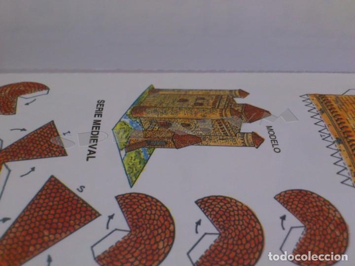 Coleccionismo Recortables: CASTILLOS - RECORTABLES - PAPER-MODEL - SERIE MEDIEVAL - CARPETA - 8 LAMINAS - CASTILLO - NUEVO - Foto 13 - 265769834