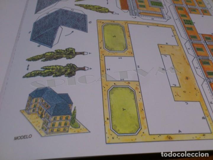 Coleccionismo Recortables: CASTILLOS - RECORTABLES - PAPER-MODEL - SERIE MEDIEVAL - CARPETA - 8 LAMINAS - CASTILLO - NUEVO - Foto 14 - 265769834