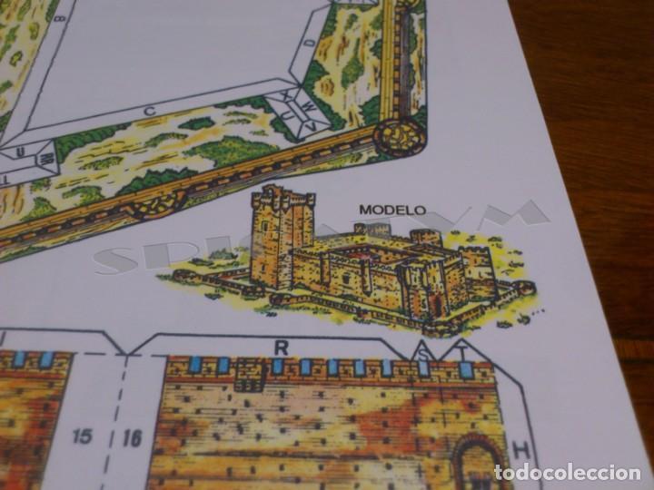 Coleccionismo Recortables: CASTILLOS - RECORTABLES - PAPER-MODEL - SERIE MEDIEVAL - CARPETA - 8 LAMINAS - CASTILLO - NUEVO - Foto 16 - 265769834