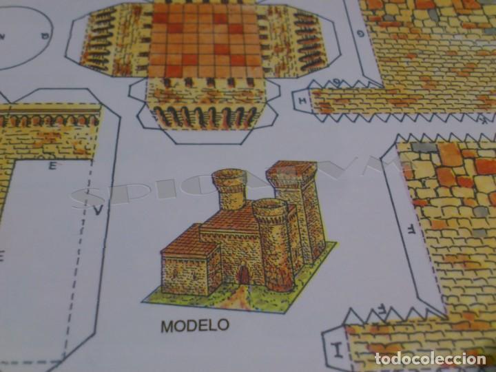 Coleccionismo Recortables: CASTILLOS - RECORTABLES - PAPER-MODEL - SERIE MEDIEVAL - CARPETA - 8 LAMINAS - CASTILLO - NUEVO - Foto 18 - 265769834