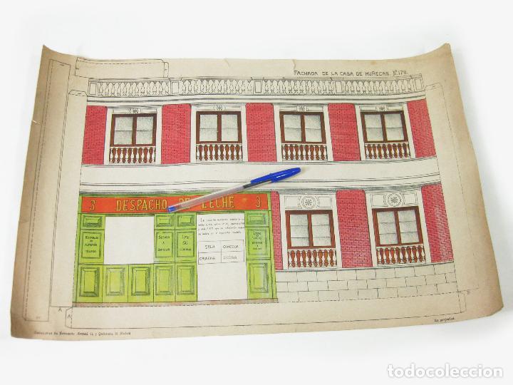 Coleccionismo Recortables: RECORTABLE DE FACHADA DE LA CASA DE MUÑECAS Nº 178. SUCESORES DE HERNANDO - Foto 2 - 267661884