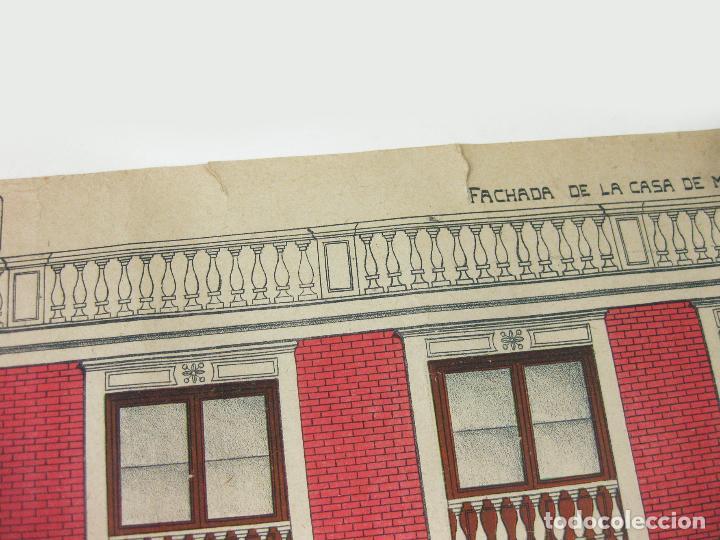 Coleccionismo Recortables: RECORTABLE DE FACHADA DE LA CASA DE MUÑECAS Nº 178. SUCESORES DE HERNANDO - Foto 3 - 267661884