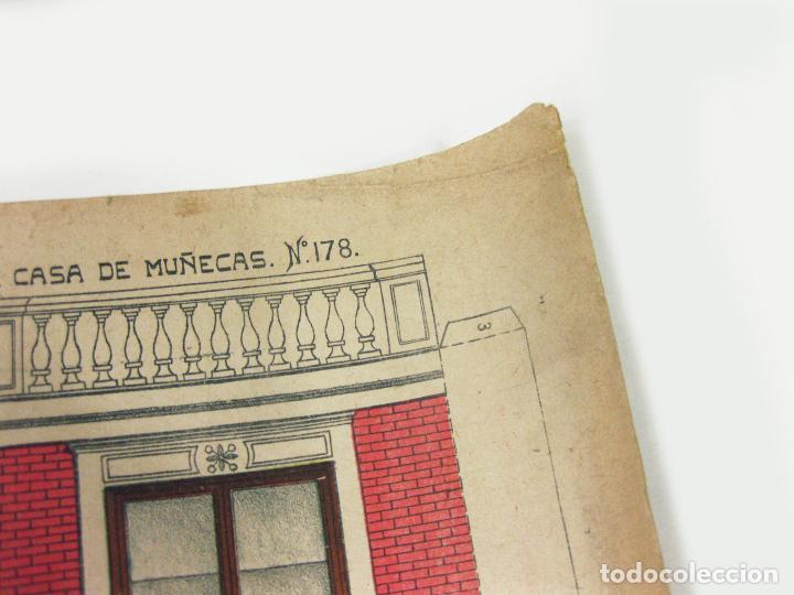 Coleccionismo Recortables: RECORTABLE DE FACHADA DE LA CASA DE MUÑECAS Nº 178. SUCESORES DE HERNANDO - Foto 4 - 267661884