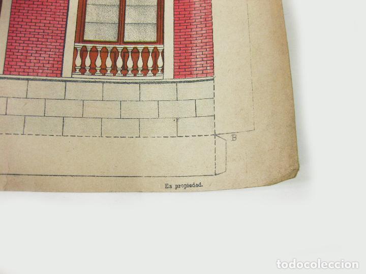 Coleccionismo Recortables: RECORTABLE DE FACHADA DE LA CASA DE MUÑECAS Nº 178. SUCESORES DE HERNANDO - Foto 5 - 267661884