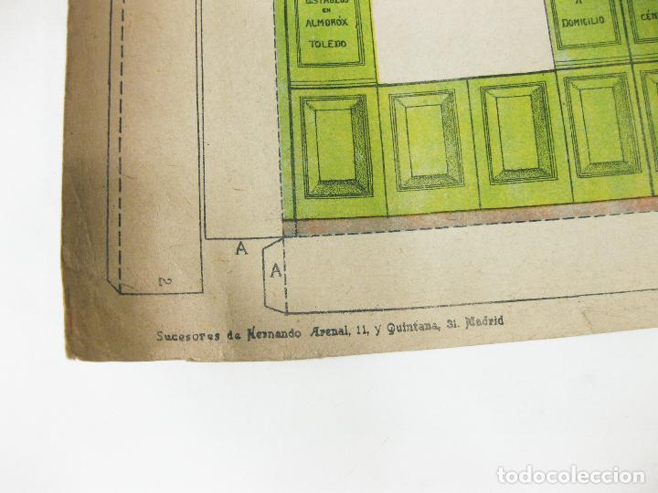 Coleccionismo Recortables: RECORTABLE DE FACHADA DE LA CASA DE MUÑECAS Nº 178. SUCESORES DE HERNANDO - Foto 6 - 267661884