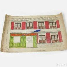 Coleccionismo Recortables: RECORTABLE DE FACHADA DE LA CASA DE MUÑECAS Nº 178. SUCESORES DE HERNANDO. Lote 267661884