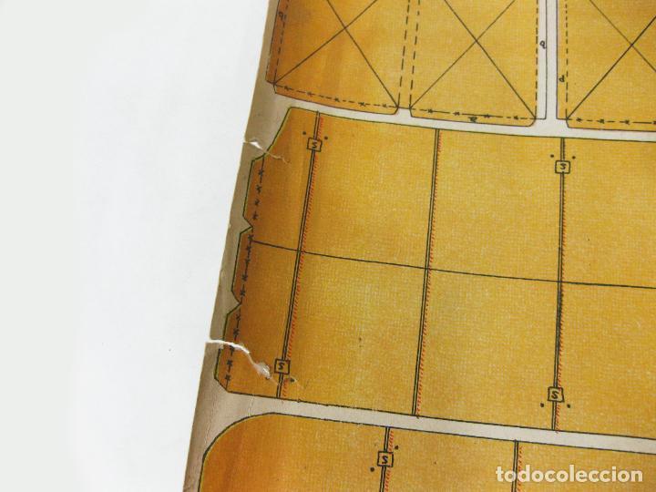 Coleccionismo Recortables: RECORTABLE DE LA TIJERA - AEROPLANO SERIE 25 Nº 20 - Foto 3 - 267665289