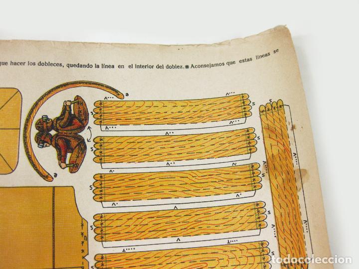 Coleccionismo Recortables: RECORTABLE DE LA TIJERA - AEROPLANO SERIE 25 Nº 20 - Foto 4 - 267665289