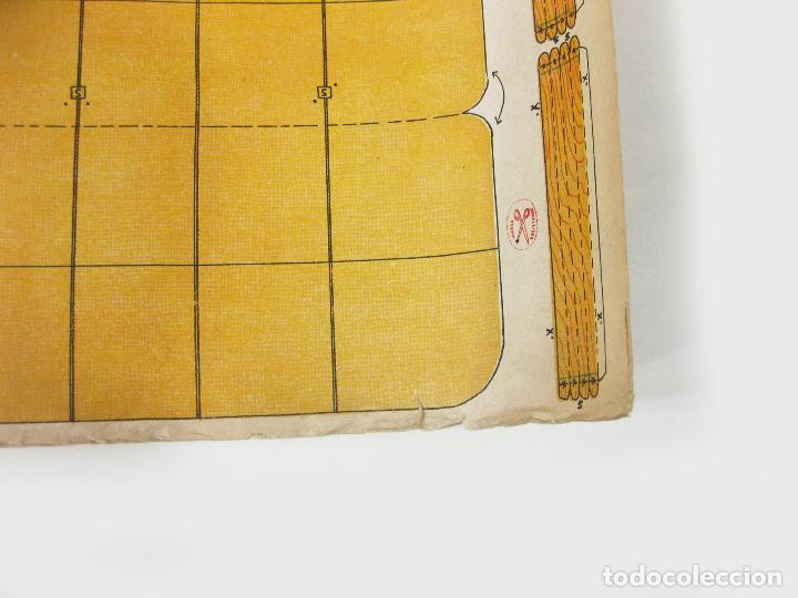 Coleccionismo Recortables: RECORTABLE DE LA TIJERA - AEROPLANO SERIE 25 Nº 20 - Foto 5 - 267665289