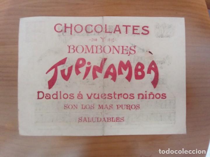 Coleccionismo Recortables: Ingenio Cubano. Antiguo recortable Cafés y Chocolates Tupinamba. Años 50. - Foto 2 - 268399734
