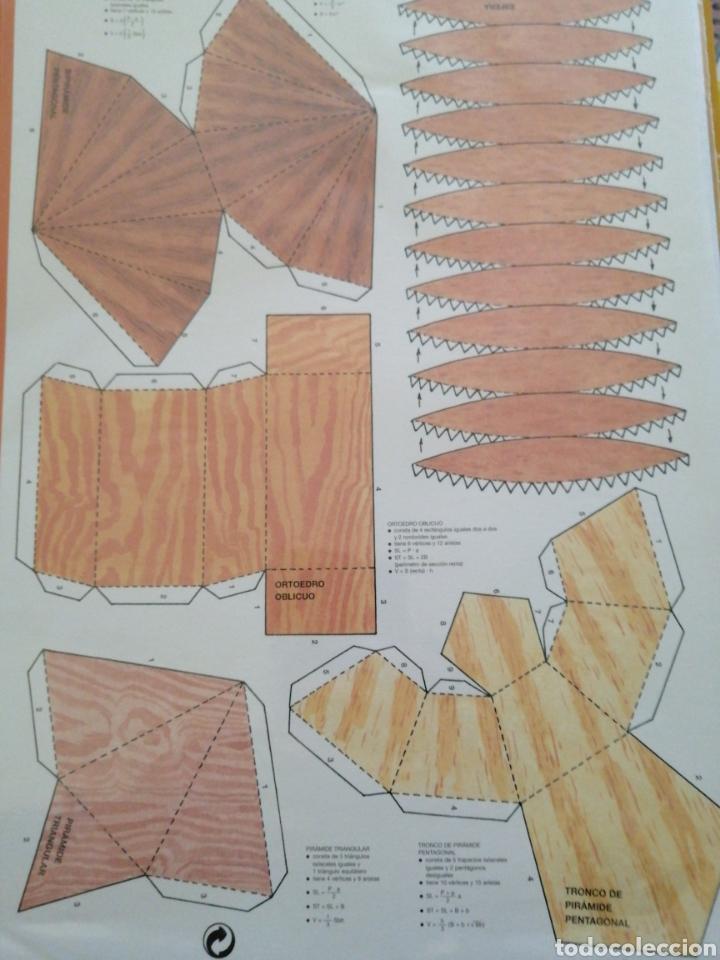 Coleccionismo Recortables: Cuerpos geométricos Recortables Combel - Foto 2 - 268814294