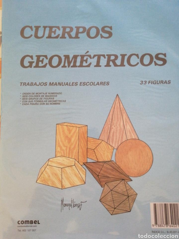 CUERPOS GEOMÉTRICOS RECORTABLES COMBEL (Coleccionismo - Recortables - Construcciones)