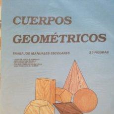 Coleccionismo Recortables: CUERPOS GEOMÉTRICOS RECORTABLES COMBEL. Lote 268814294
