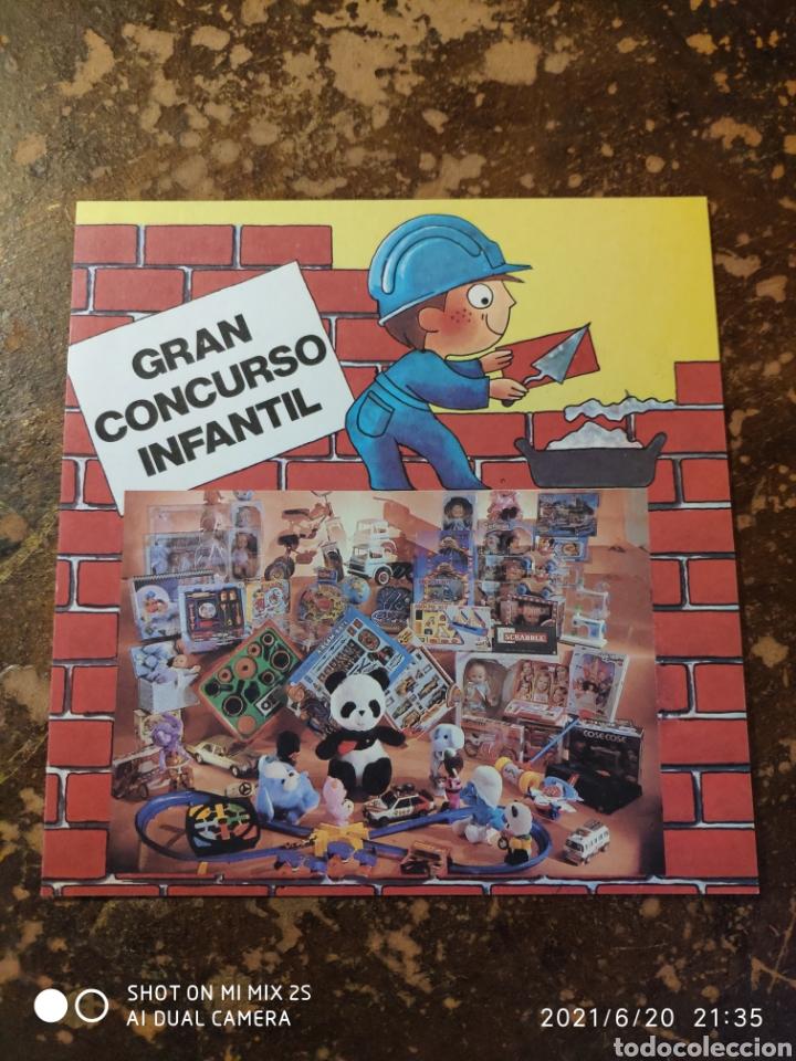 GRAN CONCURSO INFANTIL, CONSTRUIR UNA CIUDAD DE PAPEL (AGROMAN EMPRESA CONSTRUCTORA) (1984) (Coleccionismo - Recortables - Construcciones)
