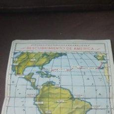 Coleccionismo Recortables: RECORTABLE CONSTRUCCIONES CALLEJA Nº 5 DESCUBRIMIENTO DE AMERICA , DESPLEGABLE , ORIGINAL. Lote 271367673