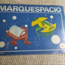 Coleccionismo Recortables: CUADERNO DE MARQUETERÍA SALVATELLA MARQUESPACIO Nº 2 NAVE VEGA Y RIGEL. Lote 276004503