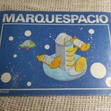 Coleccionismo Recortables: CUADERNO DE MARQUETERÍA SALVATELLA MARQUESPACIO Nº 7 NAVE PERSEUS. Lote 276004598