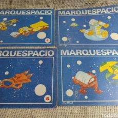Coleccionismo Recortables: CUADERNO DE MARQUETERÍA SALVATELLA MARQUESPACIO LOTE DE 4 EJEMPLARES Nº 2,4,6,7,. Lote 276007273