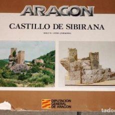 Coleccionismo Recortables: MAQUETA RECORTABLE DEL CASTILLO DE SIBIRANA ( LUESIA-ZARAGOZA-ARAGÓN ). Lote 277237273