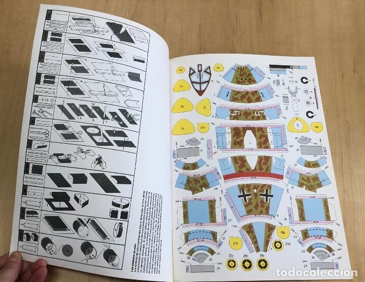 Coleccionismo Recortables: MAQUETA RECORTABLE CAZA ALEMAN MESSERSCHMITT ME 262. EDAF. 1987 - Foto 2 - 278348153