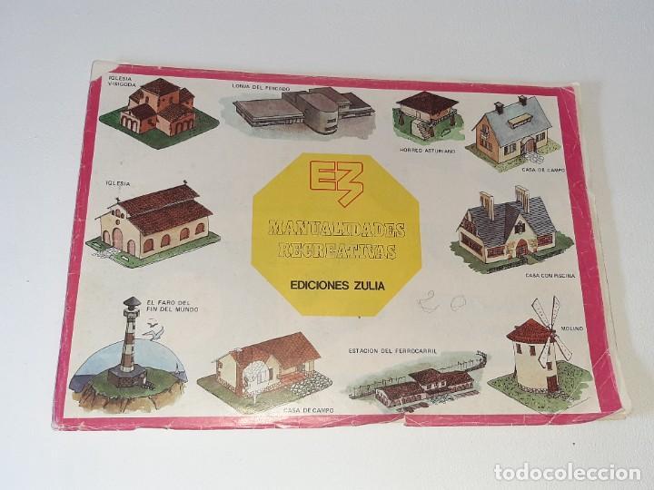 Coleccionismo Recortables: ANTIGUO LIBRO ALBUM MANUALIDADES RECREATIVAS RECORTABLES 35 LAMINAS EDITORIAL ZULIA AÑO 1981 - Foto 2 - 278412618