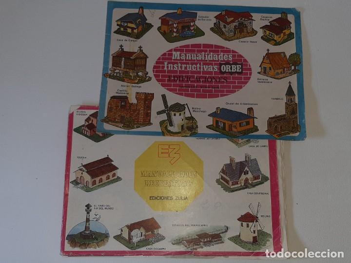 Coleccionismo Recortables: ANTIGUO LIBRO ALBUM MANUALIDADES RECREATIVAS RECORTABLES 35 LAMINAS EDITORIAL ZULIA AÑO 1981 - Foto 49 - 278412618