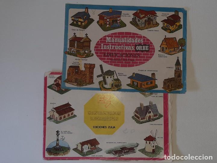 Coleccionismo Recortables: ANTIGUO LIBRO ALBUM MANUALIDADES RECREATIVAS RECORTABLES 35 LAMINAS EDITORIAL ZULIA AÑO 1981 - Foto 50 - 278412618