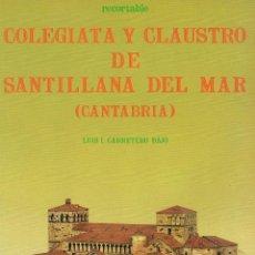 Coleccionismo Recortables: RECORTABLE COLEGIATA Y CLAUSTRO DE SANTILLANA DEL MAR (CANTABRIA) 1985. Lote 278528423